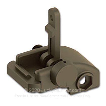 Large image of AR Folding Back-Up Iron Sight - Folding - Rear - Blackhawk - Black - 71BU01BK