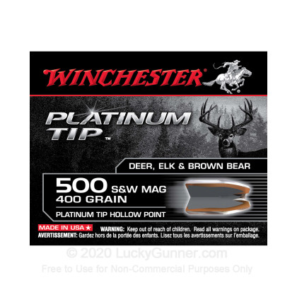 Image 1 of Winchester .500 S&W Magnum Ammo