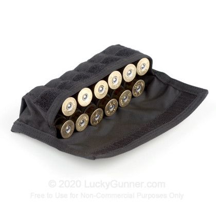 Large image of 12-Gauge Shotgun Shell Pouch Belt Loop Blackhawk Black For Sale