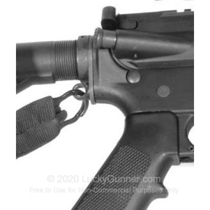 Large image of Blackhawk Single Point AR-15 Adapter For Sale - Blackhawk Universal Single Point Sling Adapter for AR-15 Collapsible Buttstocks