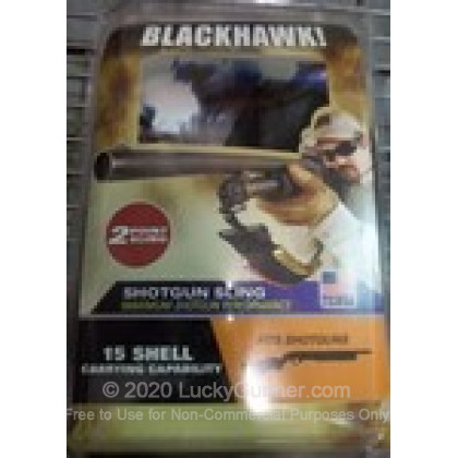 Large image of Blackhawk Two Point Shotgun Sling For Sale - Blackhawk Universal Two Point Shotgun Sling with 15 Round Shell Holder For Tactical Shotguns