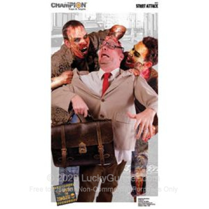 Large image of Champion Zombie Street Attack Targets For Sale - Zombie Targets In Stock