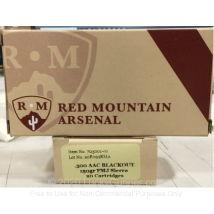 Image 1 of Red Mountain Arsenal .300 Blackout Ammo