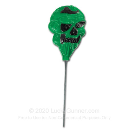 Large image of Champion Duraseal Reactive Targets For Sale - Green Zombie Head Target In Stock