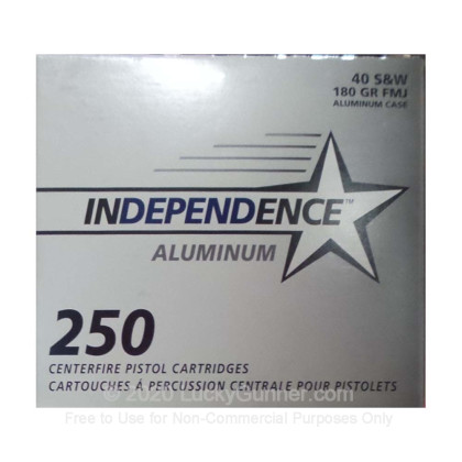 Image 1 of Independence .40 S&W (Smith & Wesson) Ammo