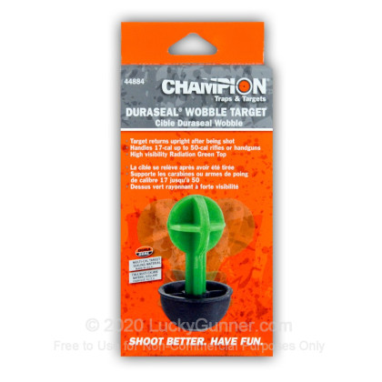 Large image of Champion Duraseal 3D Reactive Targets For Sale - Green Wobble Target In Stock