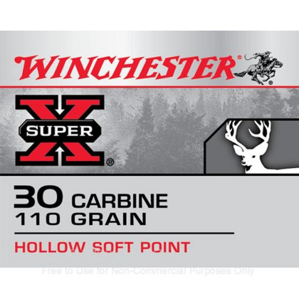 Image 3 of Winchester 30 Carbine Ammo