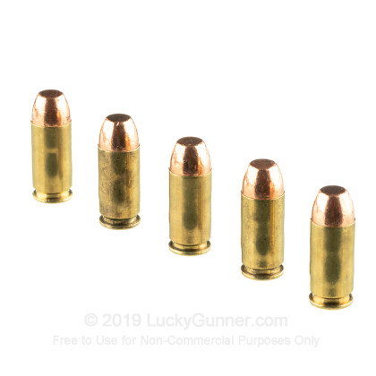 40 S&W - 180 Grain Plated FP - Military Ballistics Industries - 1000 Rounds