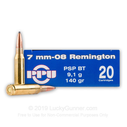 Image 1 of Prvi Partizan 7mm-08 Remington Ammo