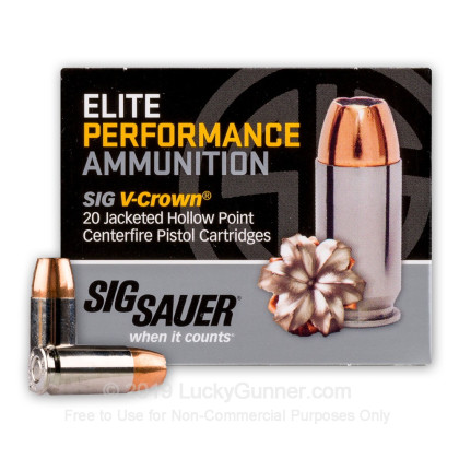 Image 2 of SIG SAUER 9mm Luger (9x19) Ammo
