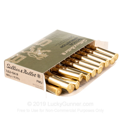 Image 4 of Sellier & Bellot 7.62x54r Ammo