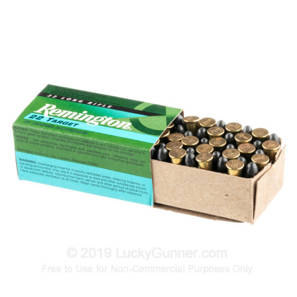 Cheap 22 Lr Target Ammo For Sale 40 Grain Lead Round