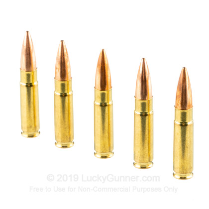 Large image of Cheap 300 AAC Blackout Ammo For Sale - 220 Grain HPBT MatchKing Ammunition in Stock by Fiocchi - 500 Rounds
