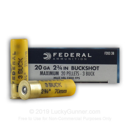 Image 1 of Federal 20 Gauge Ammo