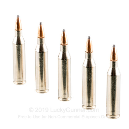 Large image of Premium 243 Win Ammo For Sale - 100 gr SPBT - Federal Premium Sierra GameKing Vital-Shok Ammo Online - 20 Rounds