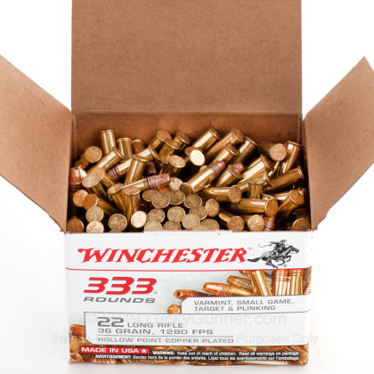 Image 9 of Winchester .22 Long Rifle (LR) Ammo
