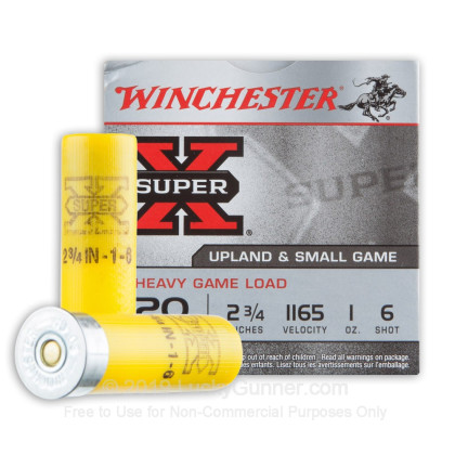 Image 2 of Winchester 20 Gauge Ammo