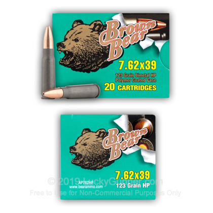 Image 5 of Brown Bear 7.62X39 Ammo