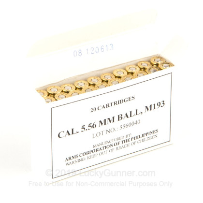 Image 2 of Armscor 5.56x45mm Ammo