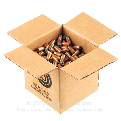 "Large image of Premium 38 Special / 357 Magnum (.357"") Bullets for Sale - 158 Grain JHP Bullets in Stock by Zero Bullets - 500 Projectiles"