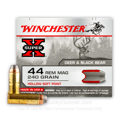Image 1 of Winchester .44 Magnum Ammo