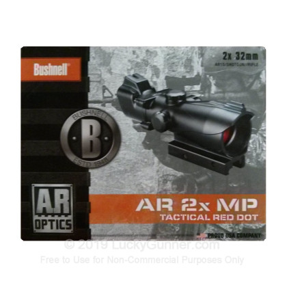 Large image of Rifle Scope For Sale - 2x - 32mm AR730232 - Red T-dot - Black Matte Bushnell Optics Rifle Scopes in Stock