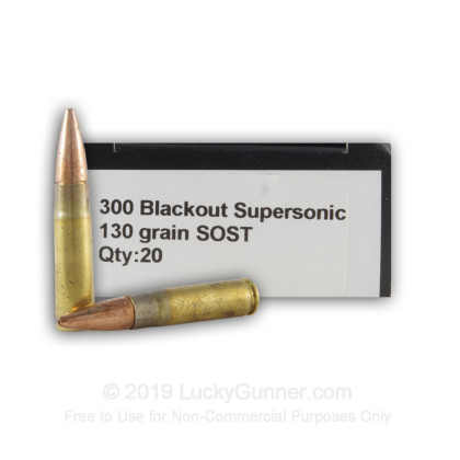 Image 4 of Gunn Ammo .300 Blackout Ammo