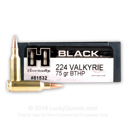 Image 1 of Hornady .224 Valkyrie Ammo