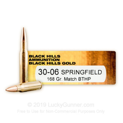 Image 1 of Black Hills Ammunition .30-06 Ammo