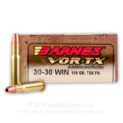 Image 1 of Barnes .30-30 Winchester Ammo