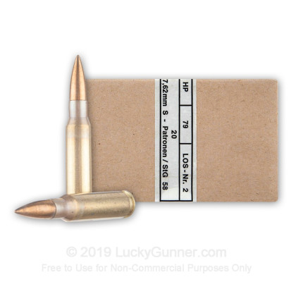 Image 1 of Hirtenberger .308 (7.62X51) Ammo