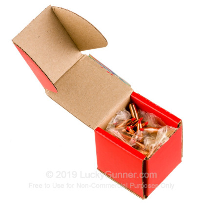 Large image of Bulk 223 Rem (.224) Bullets for Sale - 50 Grain V-Max Polymer Tip Bullets in Stock by Hornady - 100