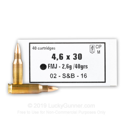 Image 1 of Sellier & Bellot 4.6X30mm HK Ammo