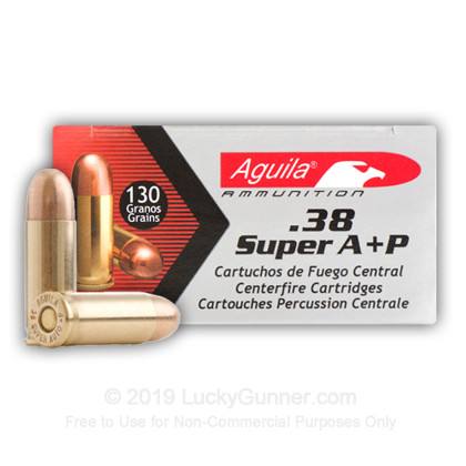 Image 1 of Aguila .38 Super Ammo
