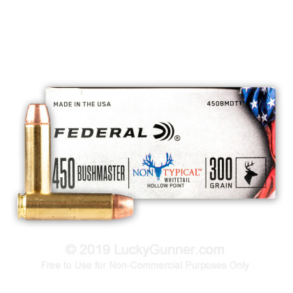 Image 1 of Federal .450 Bushmaster Ammo
