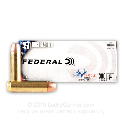 Image 2 of Federal .450 Bushmaster Ammo