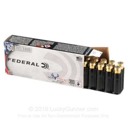 Image 3 of Federal .450 Bushmaster Ammo