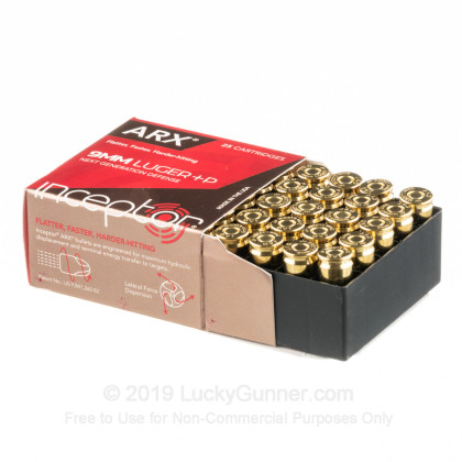 Image 3 of Inceptor 9mm Luger (9x19) Ammo