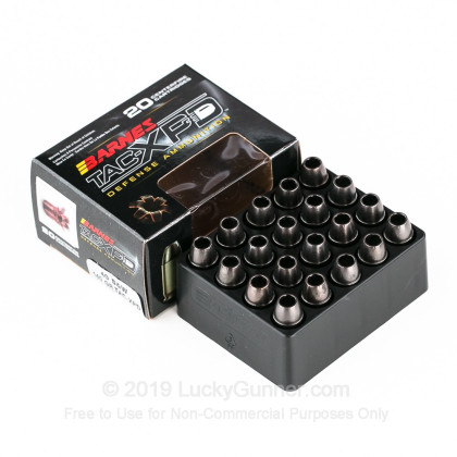Image 3 of Barnes .40 S&W (Smith & Wesson) Ammo