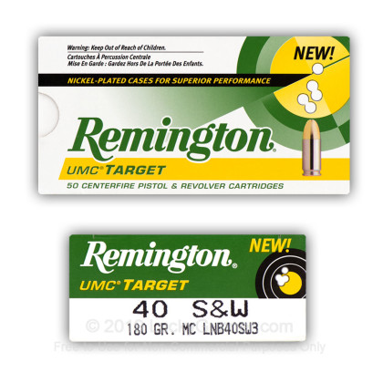Image 11 of Remington .40 S&W (Smith & Wesson) Ammo