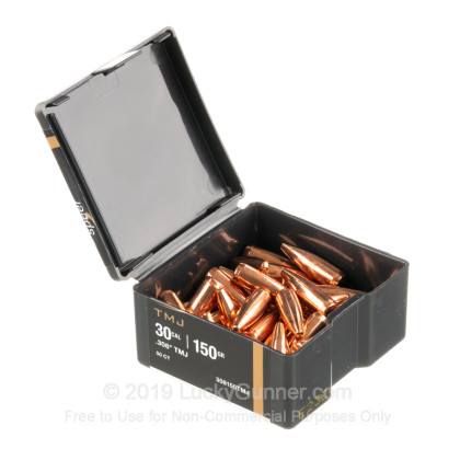 Large image of Cheap 308 Win Bullets For Sale - 150 gr TMJ Bullets in Stock by Speer - 1,000 Bullets