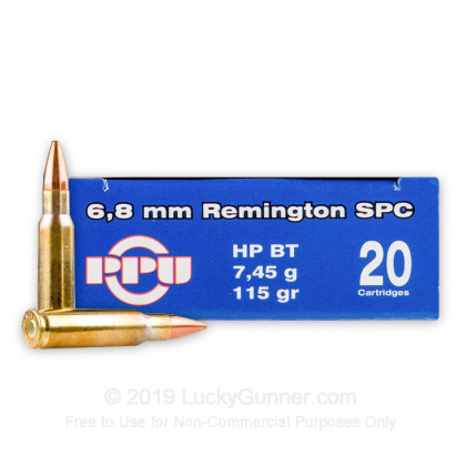 Image 2 of Prvi Partizan 6.8 Remington SPC Ammo