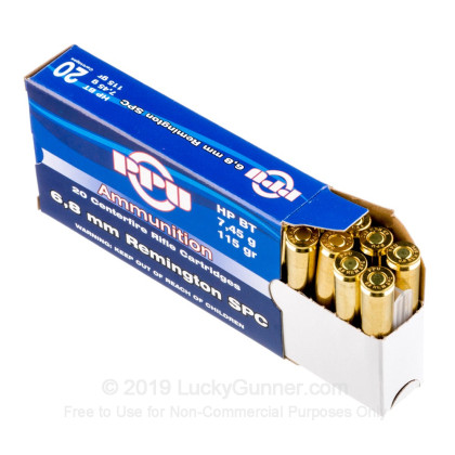 Image 3 of Prvi Partizan 6.8 Remington SPC Ammo