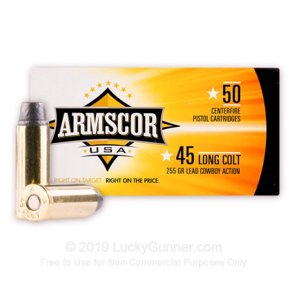 Image 1 of Armscor .45 Long Colt Ammo