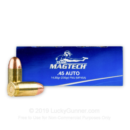 Image 1 of Magtech .45 ACP (Auto) Ammo