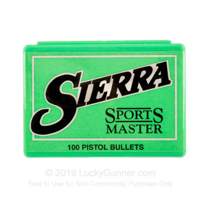 Large image of Bulk 44 Special (.429) Bullets for Sale - 180 Grain JHP Bullets in Stock by Sierra - 100