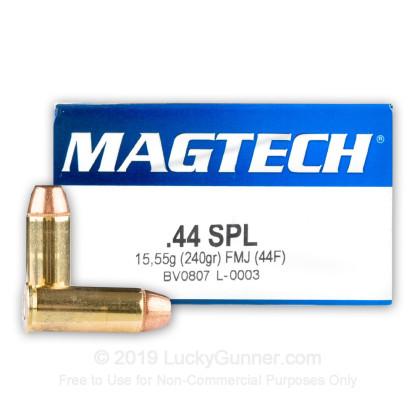 Image 1 of Magtech .44 Special Ammo