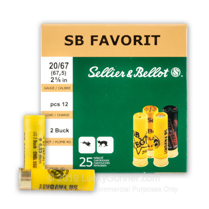 Image 2 of Sellier & Bellot 20 Gauge Ammo