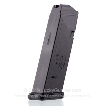 Large image of Premium 9mm Luger Magazine For Sale - 17 Round 9mm Luger Magazine in Stock by Magpul for Glock 17 - 1 Magazine