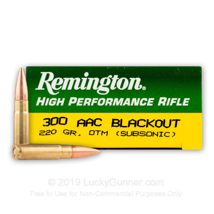 Image 1 of Remington .300 Blackout Ammo